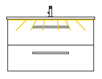 LED-Zusatzbeleuchtung, 144,8 cm