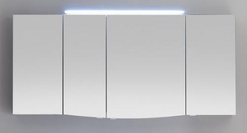 Spiegelschrank, 4 Türen, 155 cm