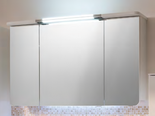 Spiegelschrank inkl. Beleuchtung, 140 cm, 6,7 Watt