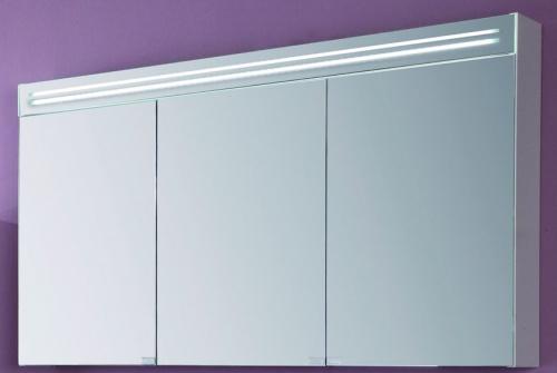 Spiegelschrank inkl. Spiegelblende mit LED-Beleuchtung, 90 cm