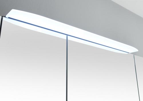 2.00 x Aufsatzleuchte für Spiegelschrank, Chrom Glanz, 12V LED, 627 LM LED, 52 cm