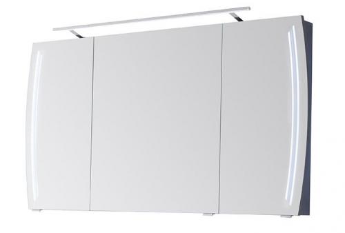 Spiegelschrank mit seitl. LED in den Spiegeltüren, 120 cm