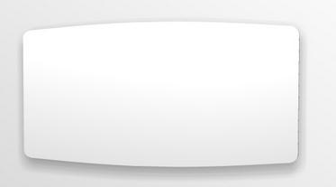 Flächenspiegel, 140 cm