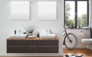 Sets mit Aufsatzwaschbecken